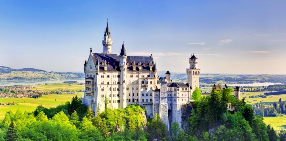Schloss Neuschwanstein und Hohenschwangau 22750