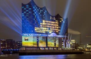 Das Konzerthaus der Superlative mit fantastischem Ausblick auf Hamburg