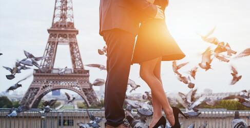 Romantischer Urlaub in Paris