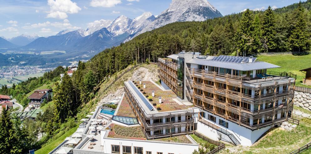 Nidum casual luxury hotel in tirol jetzt g nstig online buchen for Designhotel das marent