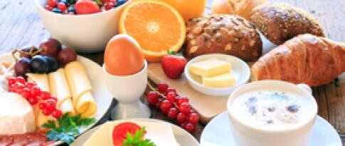 Tägliches Frühstücksbuffet