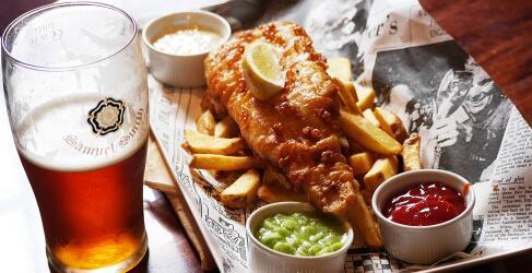 Essen und Trinken London