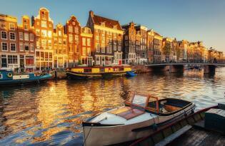Städtetrip nach Amsterdam mit höchstem Komfort und Meerblick