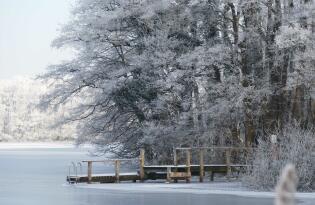 Winter Auszeit in der romantischen Naturidylle zwischen Ost- und Nordsee