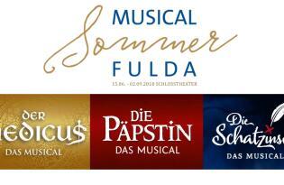 Musical Tickets für das Schlosstheater Fulda mit 4*S Hotel