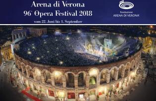 Arena di Verona Opera Festival 2018 mit 4* Hotel