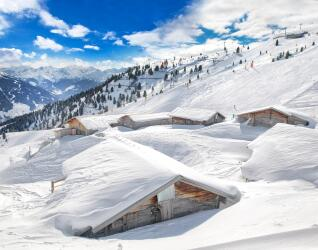 Winterlandschaft in Tirol