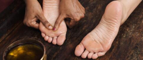 Klassische Fußreflexzonenmassage (25 Minuten)