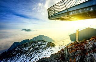 Winterurlaub direkt am Fuße der Zugspitze im modernen Boutiquehotel