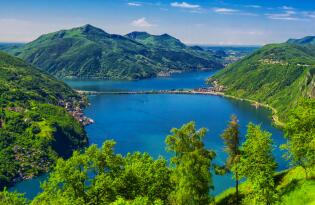Traumurlaub in atemberaubender Naturkulisse direkt am Lago di Lugano