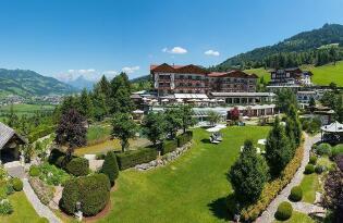 Ab in die Berge: Wellnessurlaub mit Alpenpanorama im Salzburger Land