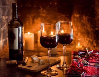 Weinverkostung an der Mosel