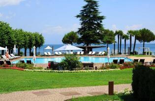 Luxuriöser Wohlfühlurlaub in atemberaubender Lage direkt am Gardasee