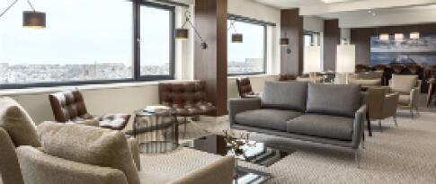 Upgrade in die Junior Suite mit Executive Lounge