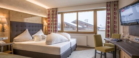 Doppelzimmer Alpen Glück Superior