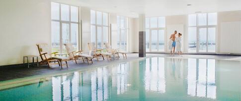 Nutzung des 1000 m² Wellnessbereiches (Eintritt ab 16 Jahren)