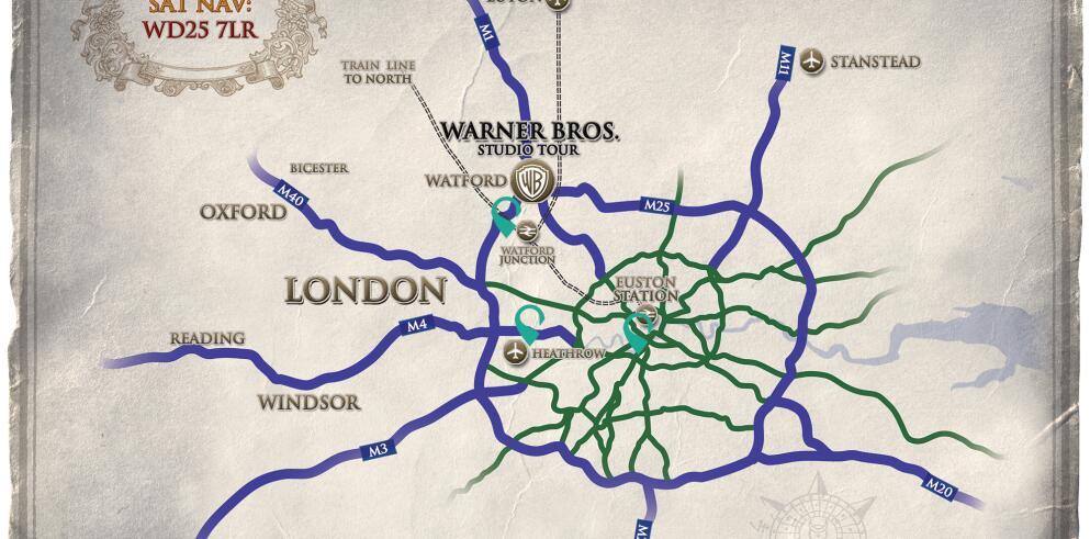 Warner Bros. Studio Tour London 29140