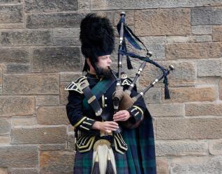 Dudelsack Edinburgh