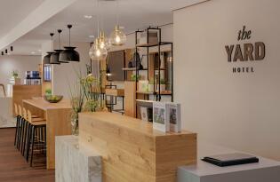 Modernes Boutique Hotel mit grünem Refugium mitten im Kreuzberger Kiez