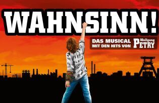 Das Party-Schlager-Musical mit den Hits von Wolfgang Petry + 4* Hotel