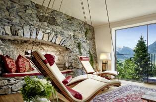 Wellnesstraum in historischem Ambiente in bester Alpen-Panoramalage