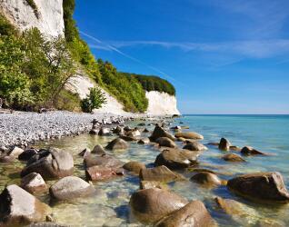 Insel Rügen Kreidefelsen