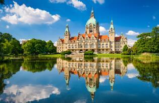 Modernes Hotel im Grünen nahe Schloss Marienburg und dem Zoo Hannover