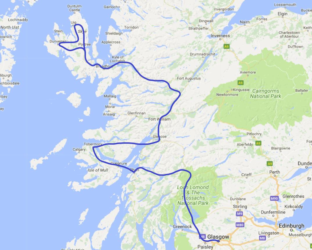 Rundreise Schottland Westen