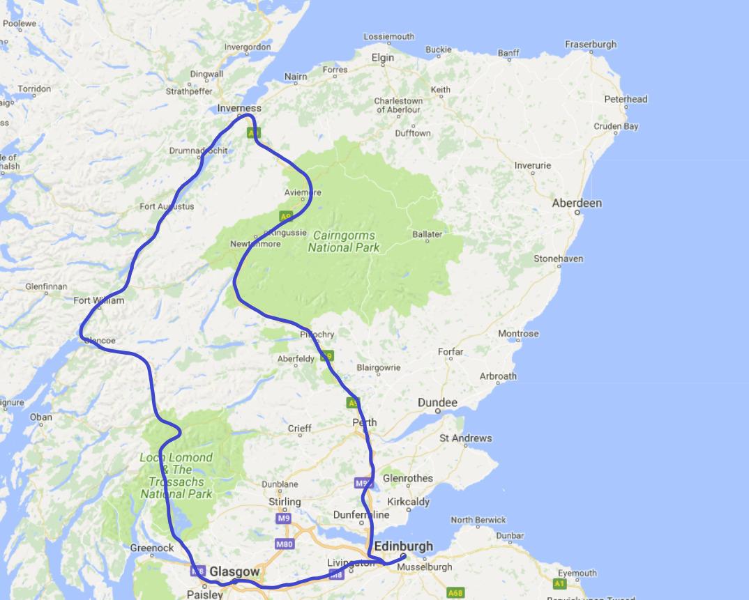 Rundreise Schottland Highlights
