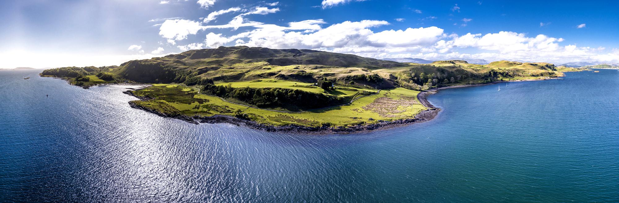 Rundreise Schottland Küstenpanorama