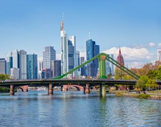 Mainufer in Frankfurt