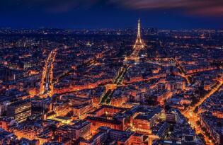 Romantische Cityreise zur einzigartigen Stadt der Lichter