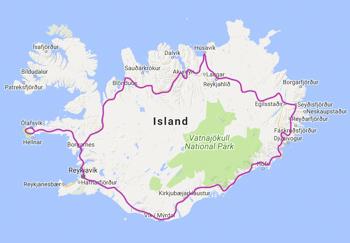Island Rundreise Ringstrasse