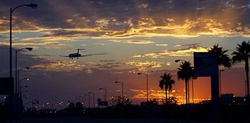USA-Westküste-Rundreise-Flug