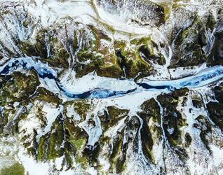 Island Urlaub Fluss