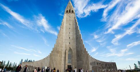 Islandreisen Reykjavik Kirche