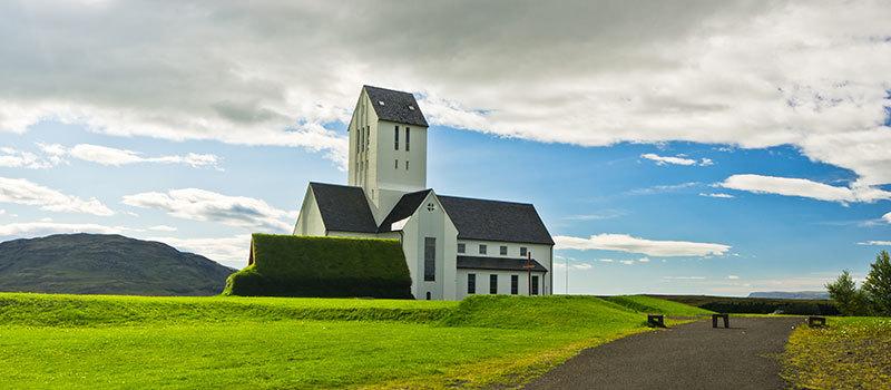 Skalholt in Island