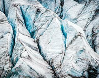 Eisberge in der Gletscherlagune