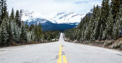 Kanada Rundreise Highway