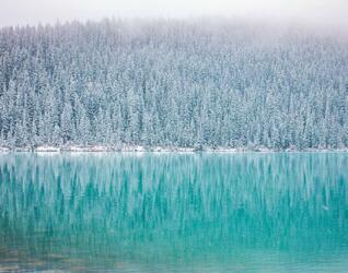 Kanada Reisen Winterlandschaft