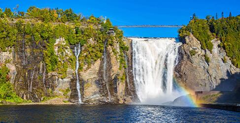 Montmorency Wasserfall Quebec City