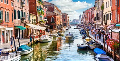 Urlaub in Italien Venedig