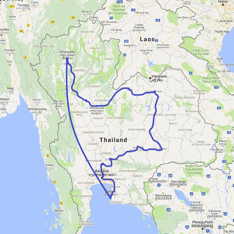 Thailand Rundreise Festland Entdecker