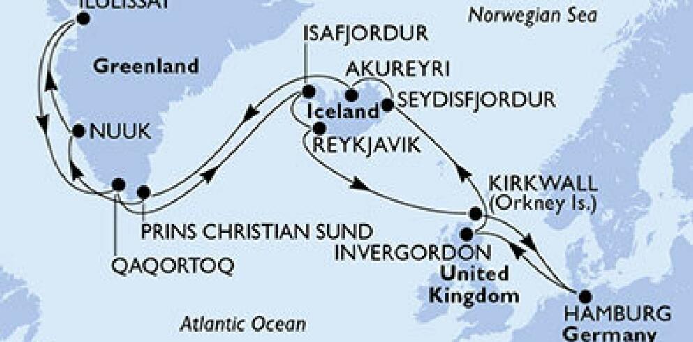 Asien und Orient Kreuzfahrt