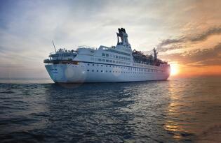 123 Tage Kreuzfahrt Weltreise auf der MS Astor