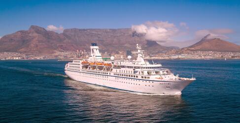 Kreuzfahrt mit TransOcean MS Astor