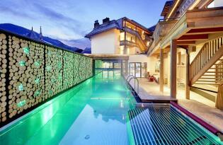 Haute Cuisine, moderner Style und königliche Entspannung im Alpenparadies