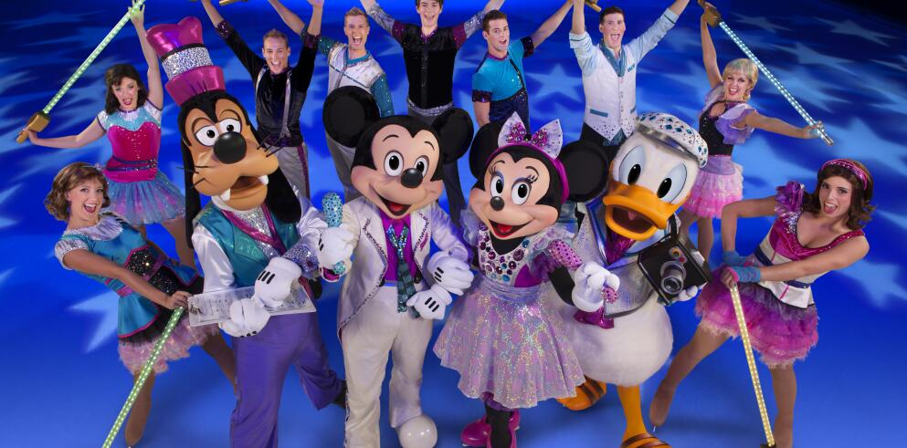 DISNEY ON ICE in Hamburg 34558