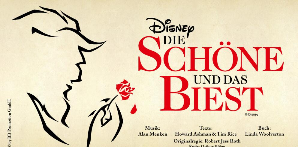 Disney DIE SCHÖNE UND DAS BIEST 34956