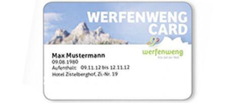 Werfenweng Card